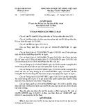 Quyết định số: 21/2015/QĐ-UBND tỉnh Cà Mau