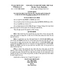 Quyết định số: 14/2015/QĐ-UBND tỉnh Gia Lai