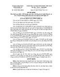 Quyết định số: 54/2015/QĐ-UBND