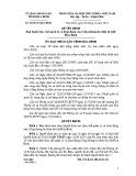 Quyết định số: 40/2014/QĐ-UBND tỉnh Hòa Bình