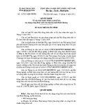 Quyết định số: 29/2015/QĐ-UBND tỉnh Bình Dương