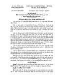 Quyết định số: 67/2011/QĐ-UBND tỉnh Thái Nguyên