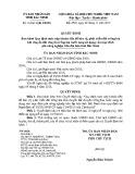 Quyết định số: 35/2015/QĐ-UBND tỉnh Bắc Ninh