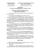 Nghị quyết số: 04/2015NQ-HĐND tỉnh Sóc Trăng