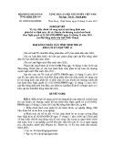 Nghị quyết số: 39/2014/NQ-HĐND