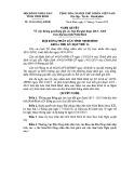 Nghị quyết số: 24/2014/NQ-HĐND tỉnh Ninh Bình