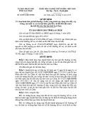 Quyết định số: 42/2014/QĐ-UBND