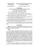 Quyết định số: 40/2014/QĐ-UBND tỉnh Lai Châu