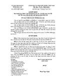 Quyết định số: 29/2015/QĐ-UBND tỉnh Đắk Lắk