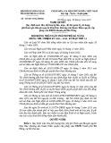 Nghị quyết số: 103/2015/NQ-HĐND