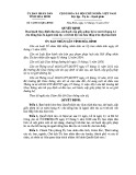 Quyết định số: 34/2014/QĐ-UBND tỉnh Hòa Bình