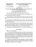 Quyết định số: 24/2015/QĐ-UBND tỉnh Hậu Giang