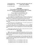 Quyết định số: 30/2013/QĐ-UBND thành phố Hà Nội
