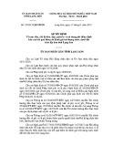 Quyết định số: 25/2015/QĐ-UBND tỉnh Lạng Sơn