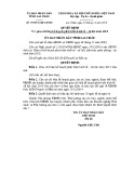 Quyết định số: 39/2014/QĐ-UBND tỉnh Lai Châu