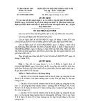 Quyết định số: 78/2014/QĐ-UBND