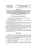 Quyết định số: 104/2014/QĐ-UBND