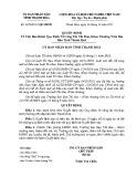Quyết định số: 4479/2011/QĐ-UBND