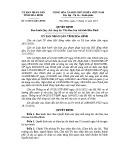 Quyết định số: 35/2014/QĐ-UBND