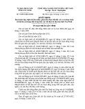 Quyết định số: 76/2014/QĐ-UBND