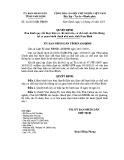 Quyết định số: 32/2015/QĐ-UBND tỉnh Nam Định