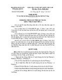 Quyết định số: 03/2015/NQ-HĐND