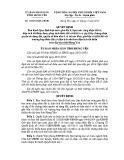 Quyết định số: 18/2014/QĐ-UBND
