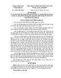 Quyết định số: 51/2015/QĐ-UBND