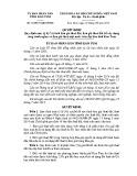 Quyết định số: 34/2015/QĐ-UBND tỉnh Kon Tum