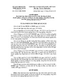 Quyết định số: 45/2015/QĐ-UBND tỉnh Quãng Ngãi