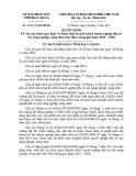 Quyết định số: 20/2015/QĐ-UBND tỉnh Hậu Giang