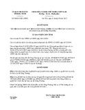 Quyết định số: 48/2015/QĐ-UBND