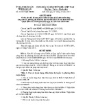 Quyết định số: 33/2015/QĐ-UBND tỉnh Đắk Lắk
