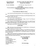 Quyết định số: 28/2015/QĐ-UBND tỉnh Sóc Trăng