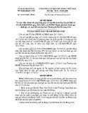 Quyết định số: 32/2013/QĐ-UBND