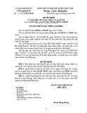 Quyết định số: 31/2015/QĐ-UBND tỉnh Nam Định