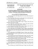 Quyết định số: 45/2009/QĐ-UBND tỉnh Khánh Hòa