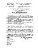 Quyết định số: 26/2011/QĐ-UBND tỉnh Hải Dương