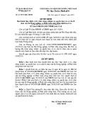 Quyết định số: 41/2015 /QĐ- UBND