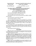 Quyết định số: 46/2014/QĐ-UBND