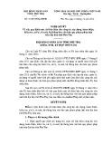Nghị quyết số: 21/2012/NQ-HĐND tỉnh Phú Thọ