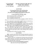 Quyết định số: 34/2015/QĐ-UBND tỉnh Bắc Ninh