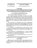 Quyết định số: 35/2013/QĐ-UBND