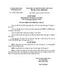 Quyết định số: 392/2015/QĐ-UBND