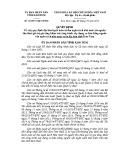Quyết định số: 42/2015/QĐ-UBND tỉnh Kon Tum