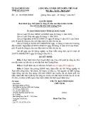 Quyết định số: 21/2015/QĐ-UBND tỉnh Quảng Nam
