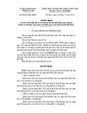 Quyết định số: 09/2013/QĐ-UBND tỉnh Hà Nam