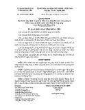 Quyết định số: 22/2014/QĐ-UBND