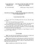 Quyết định số: 32/2015/QĐ-UBND tỉnh Đắk Lắk