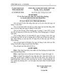 Quyết định số: 69/2009/QĐ-UBND tỉnh Khánh Hòa